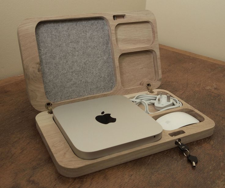 Hello and welcome to my instructable about an oak case I made for my girlfriend for Christmas. I know, super late! The project was born out of the fact that there really aren't any pretty MacMini cases out there. If you are wondering what a MacMini is, don't worry, you are not alone! It is basically a portable Mac desktop computer.-Since coming back to university I have become sort of obsessed with the CNC router in the workshop. As such I decided I would build the case using it and k...