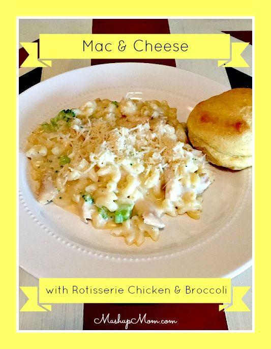 Homemade Creamy Stove-top Macaroni And Cheese With Broccoli Recipe ...