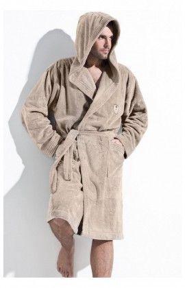 Peignoir Homme Iwo Cappuccino L&L collection 49164