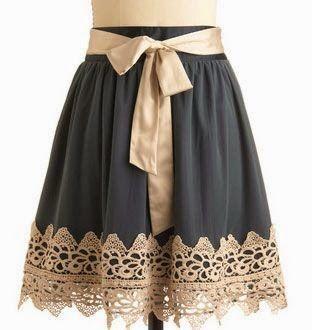 ¿Cómo alargar un vestido que nos queda corto?   Éste es mi eterno problema porque los modelos que me atraen por lo general no me qued...