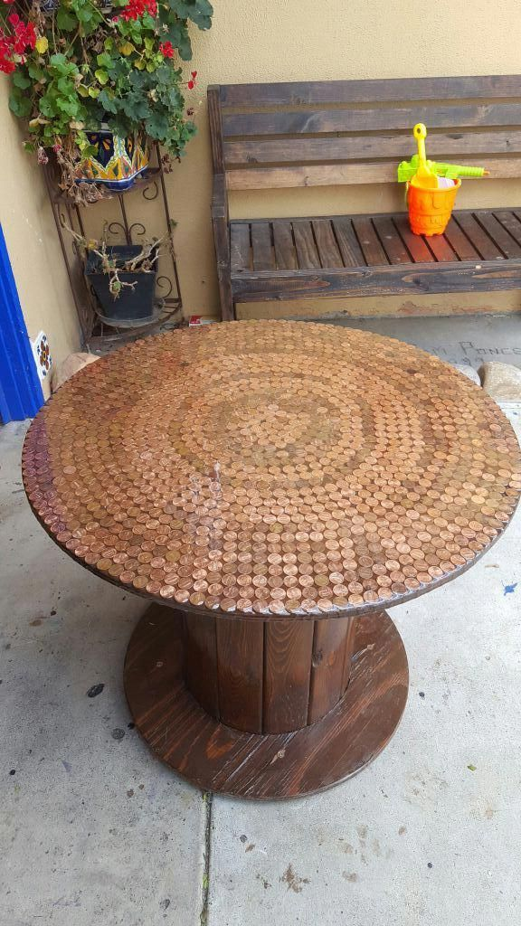Wood Cable Spool For Sale In Tustin Ca Offerup Spool