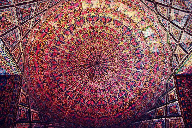 Şiraz'da Psychedelic bir Mâbed: Nasir al Molk Cami
