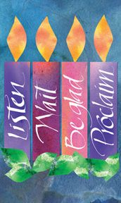 Advent Candle words--different from our usual