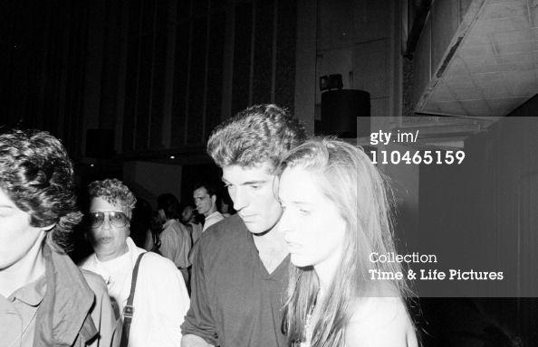 jfk jr and christina haag   title john f kennedy jr with his girlfriend actress christina haag ...
