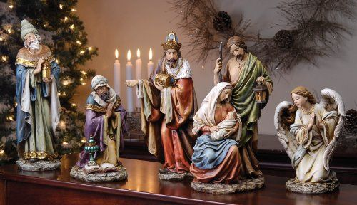 Still searching for that perfect Nativity scene for my home. Joseph's studio by Roman Nativity Set 5-Piece 16-Inch