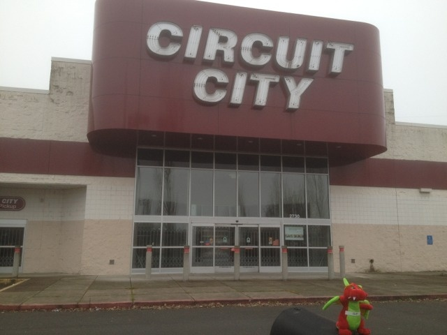 Where can I get an overpriced TV from the year 2000? I know, I'll go to Circuit City!    Ha ha, just kidding.