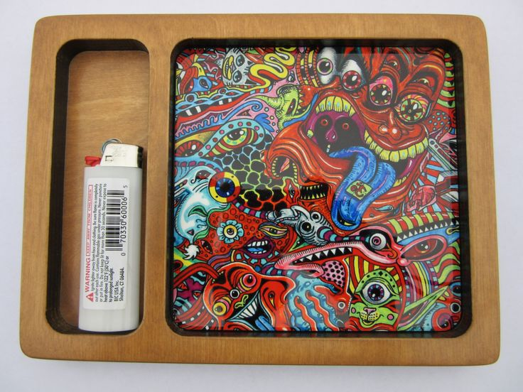 Psychedelic Weed Rolling Tray Manufactured and Printed in California by myrollingtray on Etsy https://www.etsy.com/listing/210036761/psychedelic-weed-rolling-tray