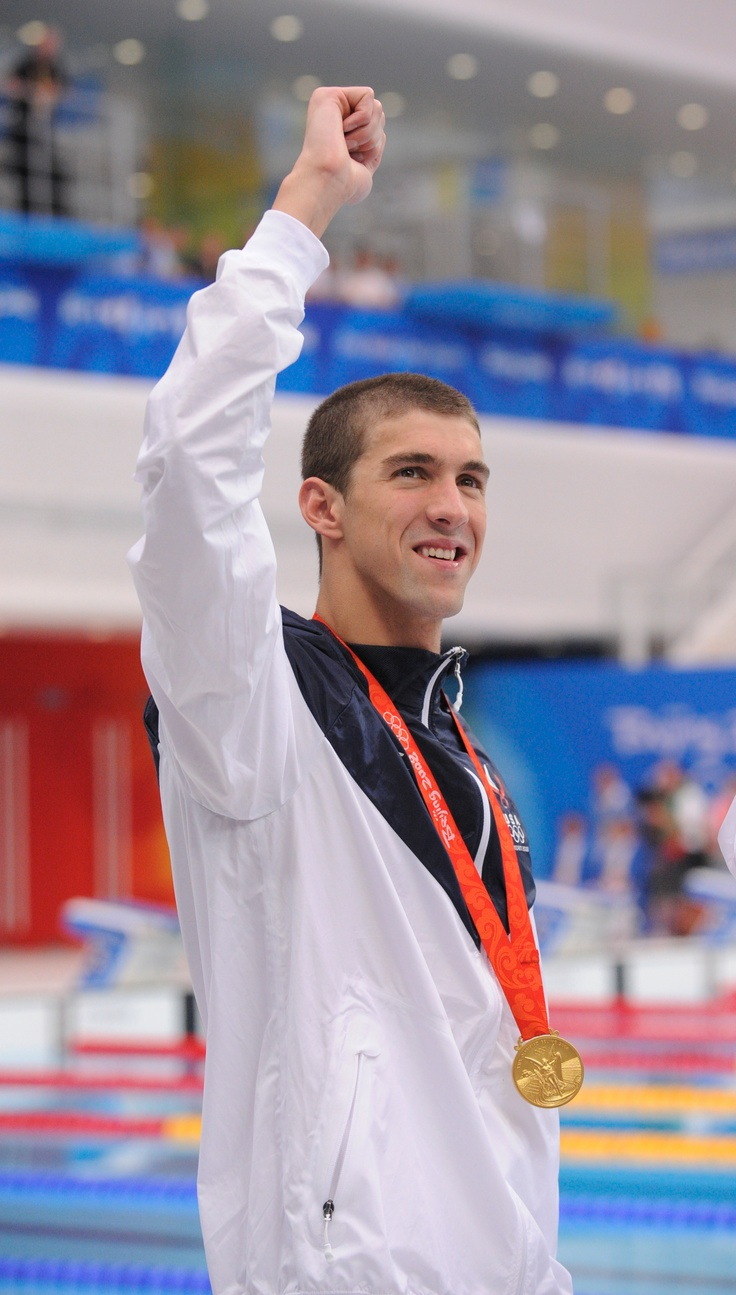 2008 Beijing, 200 freestyle: Gold.    Photo by Jack Gruber, USA TODAY