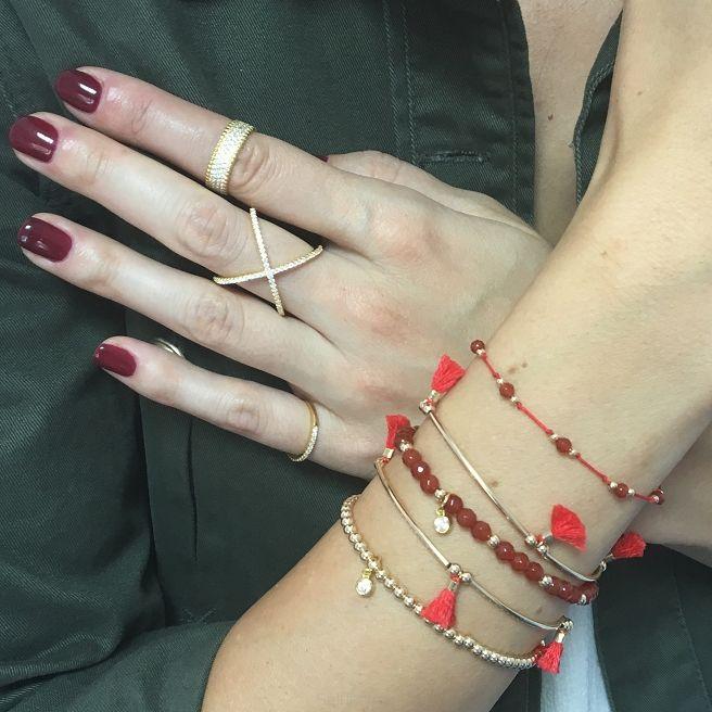 Bransoletka Jump Agat - Selfie Jewellery - Sklep Internetowy