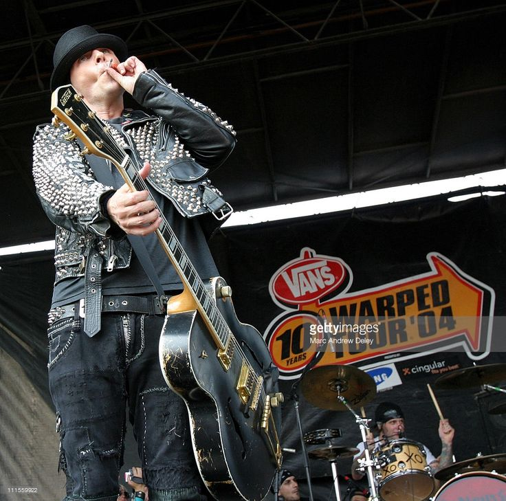 Tim Armstrong of Rancid during 2004 Vans Warped Tour 10th Anniversary Reunion Show - Boston at Foxboro Stadium in Boston, Massachusetts, United States.