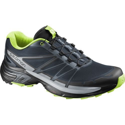 Salomon Men's Wings Pro 2 Trail Running Shoes (Grey Dark/Blue, Size 11) - Men's Outdoor Shoes at Academy Sports