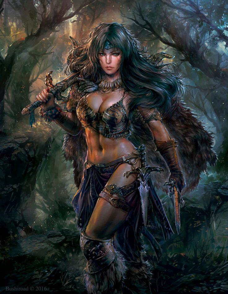 Amazon warrior femdom fiction