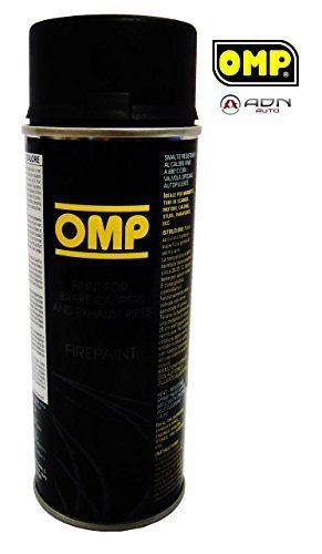 Peinture Noire Etriers/ Echappement – Resistante Haute Temperature: 1 bombe de peinture pour pots d'échappement, tuyaux, moteurs,…