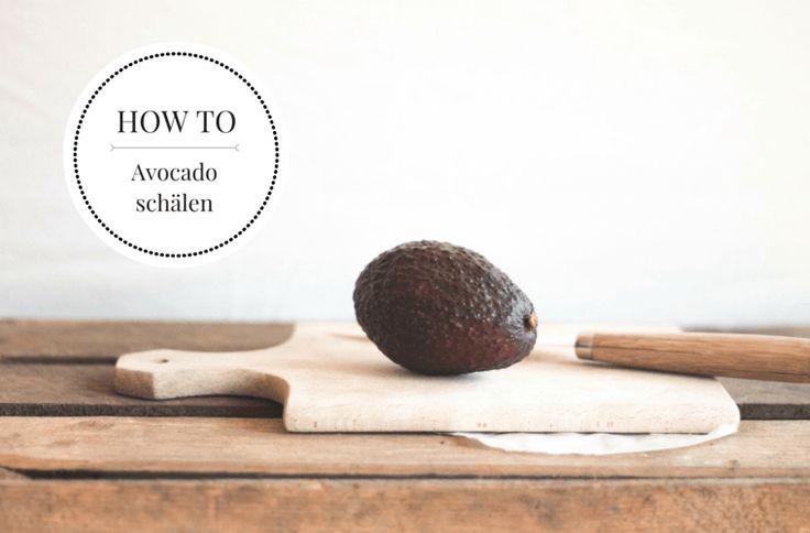 Wie Schält Man Eine Avocado