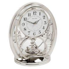 Rhythm Contemporary Modern Mantel Clock