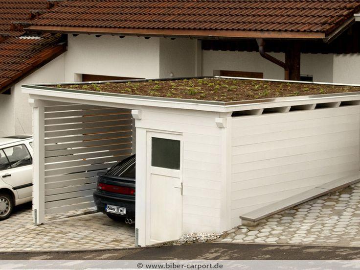 Hausbau ideen mit garage  11 besten Carport Bilder auf Pinterest | Vordach, Carport designs ...