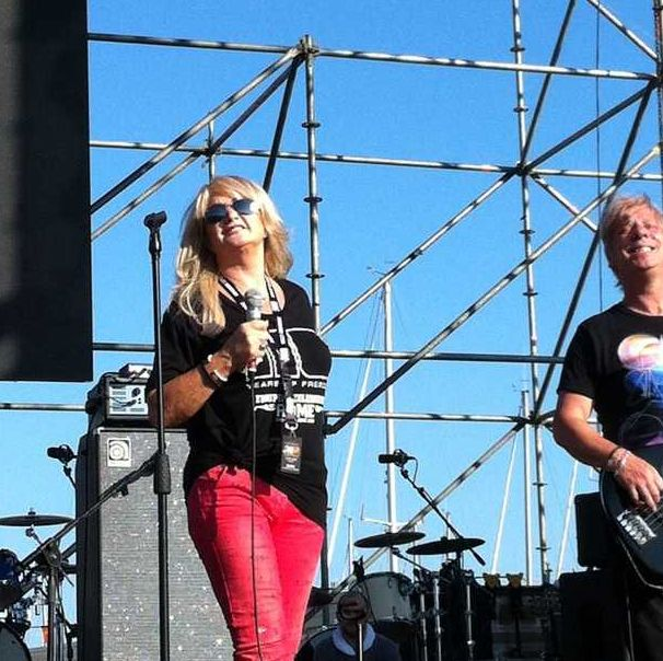 Bonnie Tyler in Rome at the Harley Davidson 110th anniversary during the soundcheck on June 15th 2013 #bonnietyler #gaynorsullivan #gaynorhopkins #thequeenbonnietyler #therockingqueen #rockingqueen #music #rock #2013 #concert #rome #harleydavidson #soundcheck