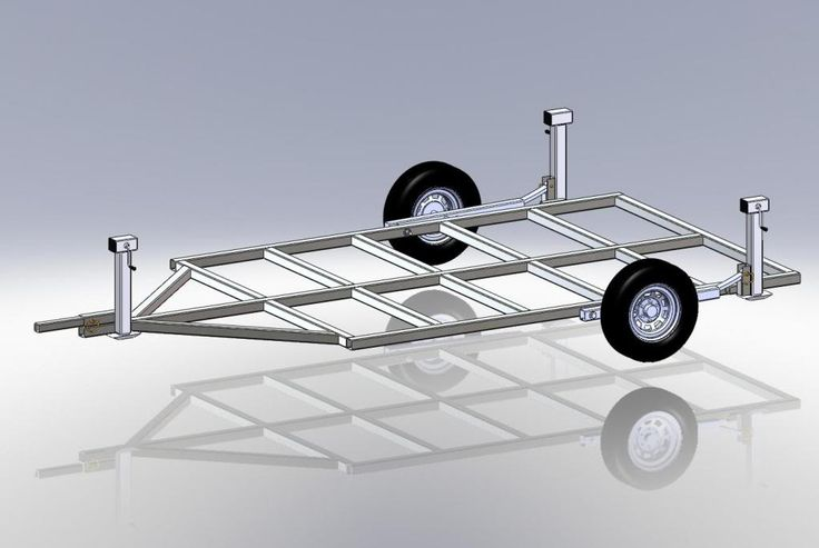 Willie 39 s ice shanty build thread drop frame trailer bed for Crank down fish house axles