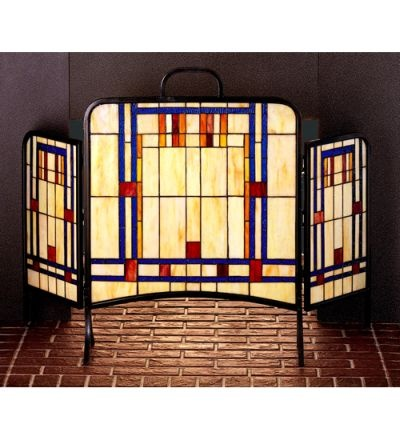 Gustav Stickley Fireplace Screen