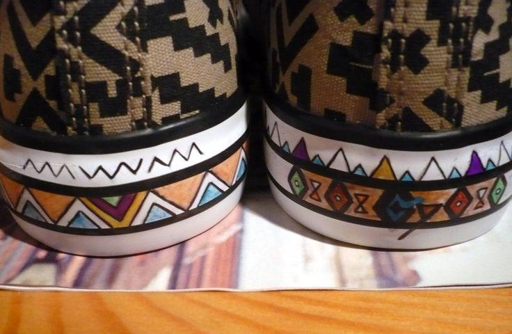 Aztec shoes WIP ;)