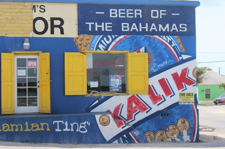 Liquor store, Governors Harbour, Eleuthera, Bahamas