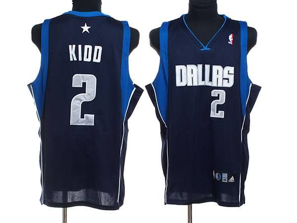 dallas mavericksdark bluelight bluenba basketball mavericks 2 jason kidd embroidered nba blue jersey only 20.50usd nfl jerseys