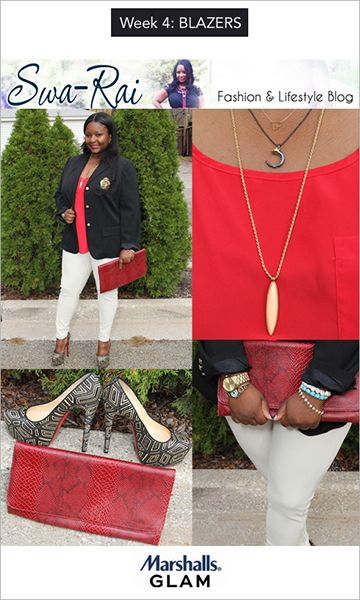 OVER THE PAST TWO MONTHS, we've watched Raijean ofSwa-Rai,Nina ofSkimbaco,Dana ofWhat the Frock, Lauren Messiah, andSara ofHigh Fashion 4 Less scour their local Marshalls stores to source and style four of the season's hottest trends: booties, colored bottoms, Equipment inspired blouse
