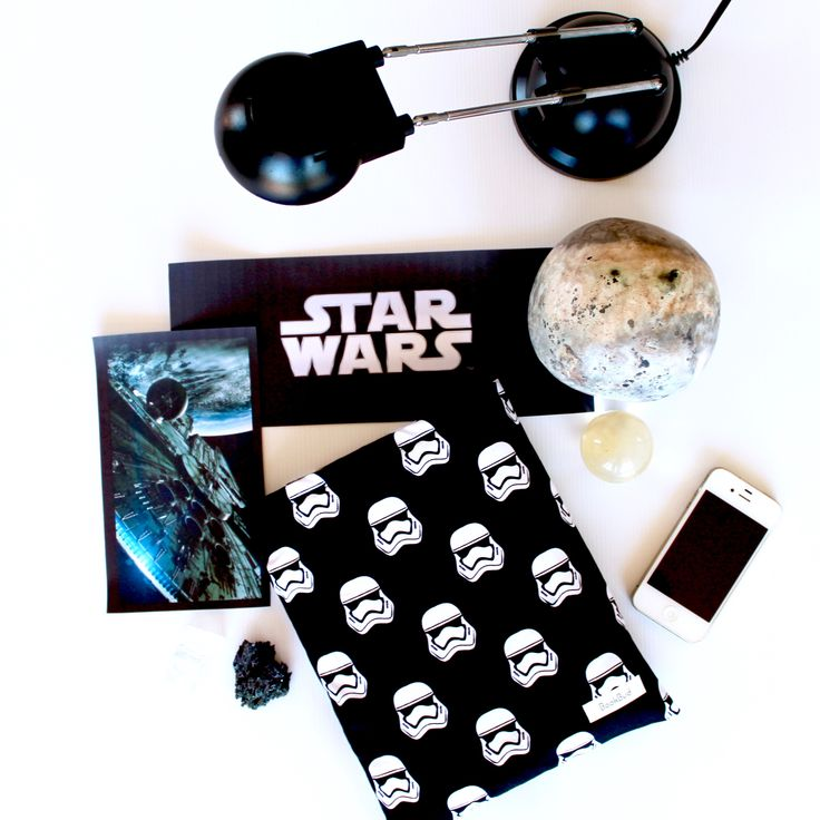 Stormtrooper book sleeve from BookBud. https://www.etsy.com/au/shop/BookBudByGabrielLea?ref=hdr_shop_menu