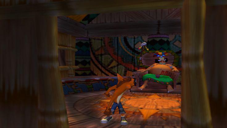 Crash Bandicoot - Papu Papu's hut