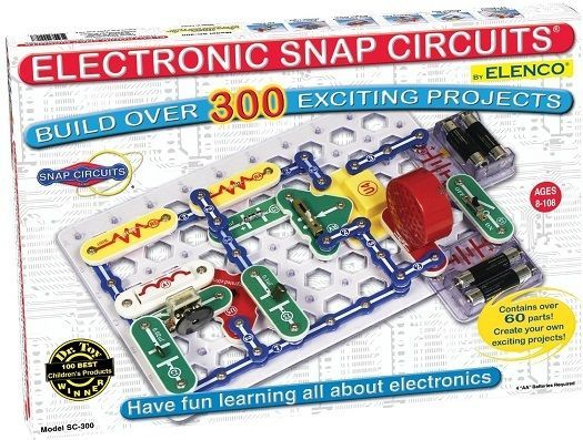 Snap Circuits Jr Electronics Kit SC-300  Educational Projects Science Kids Fun #Elenco