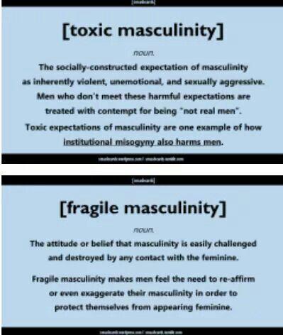 Toxic and fragile Masculinity   Feminism   Pinterest