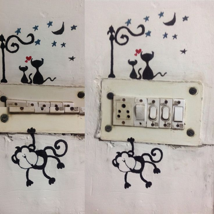 DIY switchboard from somya