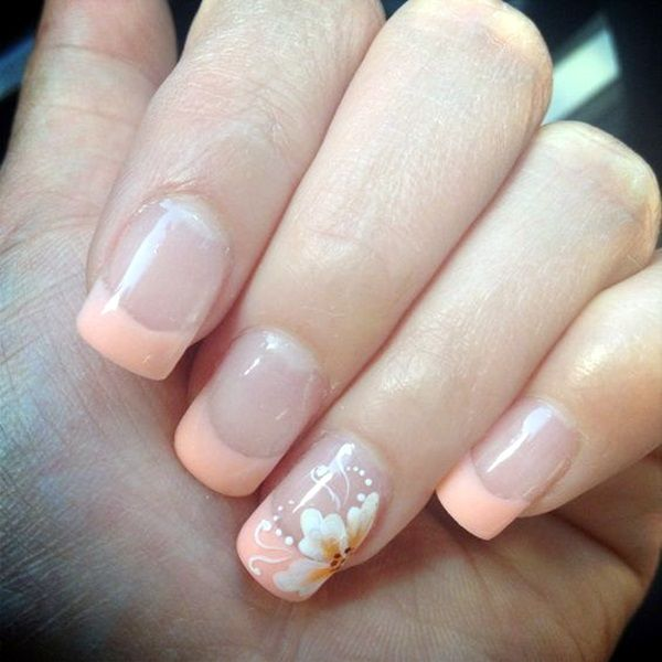 45 Pretty French Nails Designs 2016 - Best 25+ French Nail Designs Ideas On Pinterest French Manicure