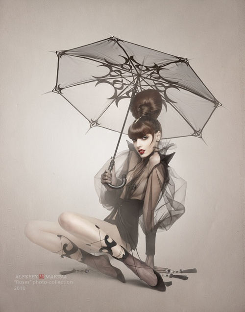 PinupBlack Rose, Inspiration, Alekseymarina, Behance, Fashion Art, Fashion Photography, Pinup Art, Beautiful Photosart, Aleksey Marina