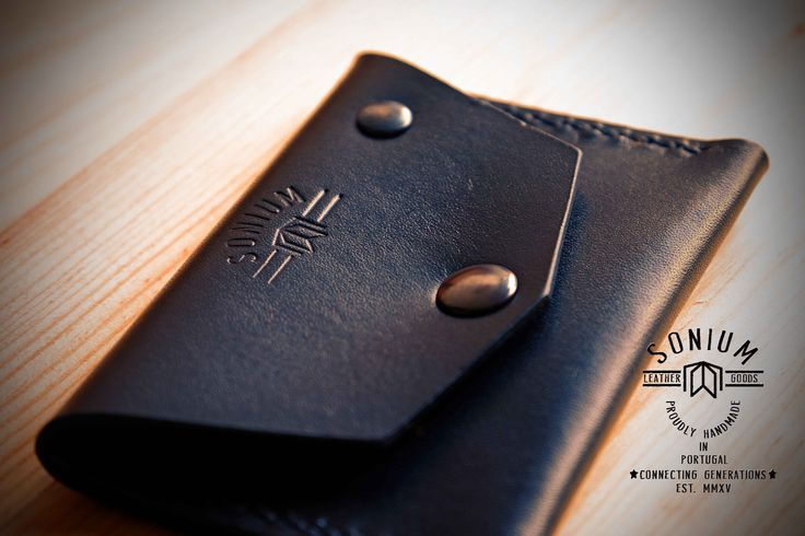 """""""SONIUM LEATHER"""" Great SONIUM Coins and Cards Wallet"""