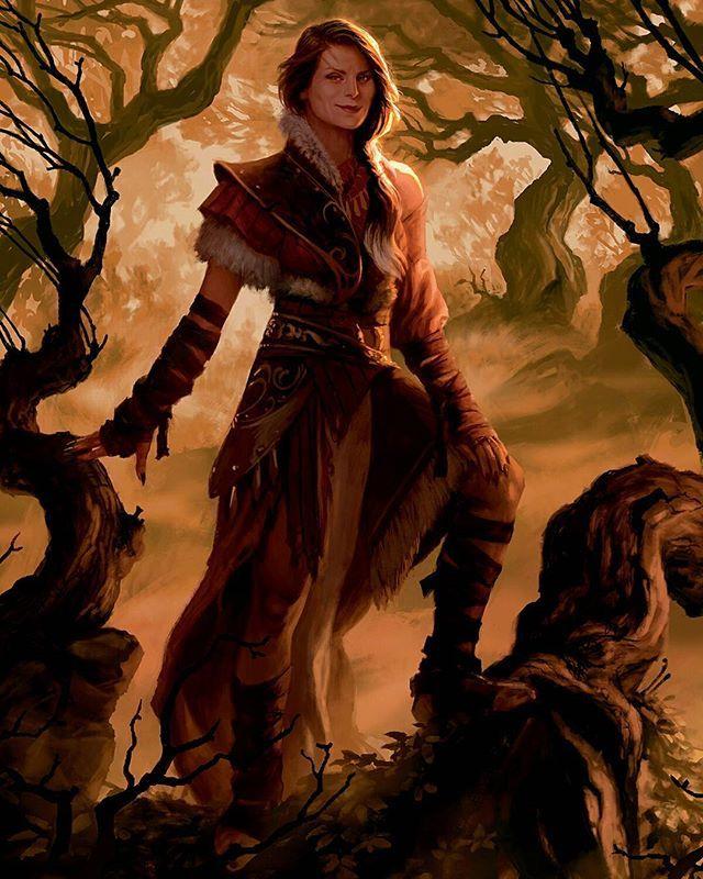 Arlinn Kord, werewolf Planeswalker from Shadows Over Innistrad