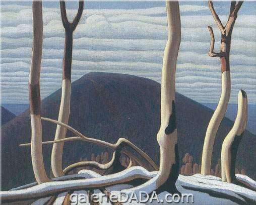 Lawren Harris,  Above Lake Superior Fine Art Reproduction Oil Painting