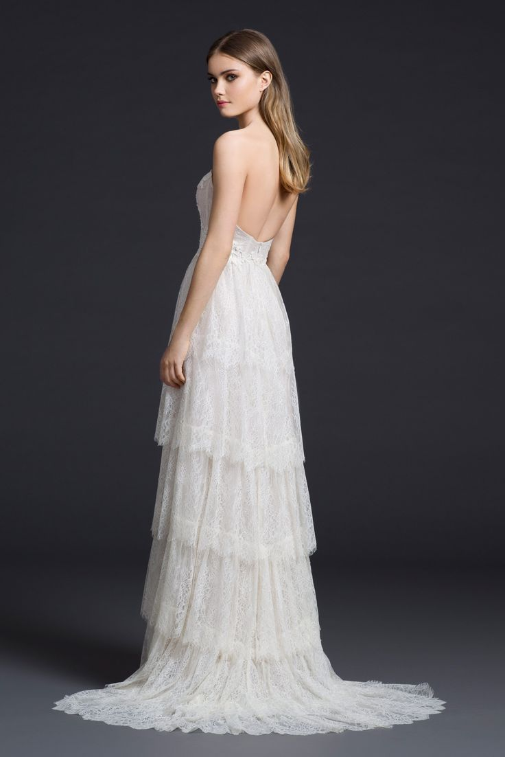 1000 images about lazaro on pinterest horsehair for Lazaro a line wedding dress