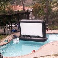 7 Aquascreen - Floatable Inflatable Movie Screen (.5mm Pvc)