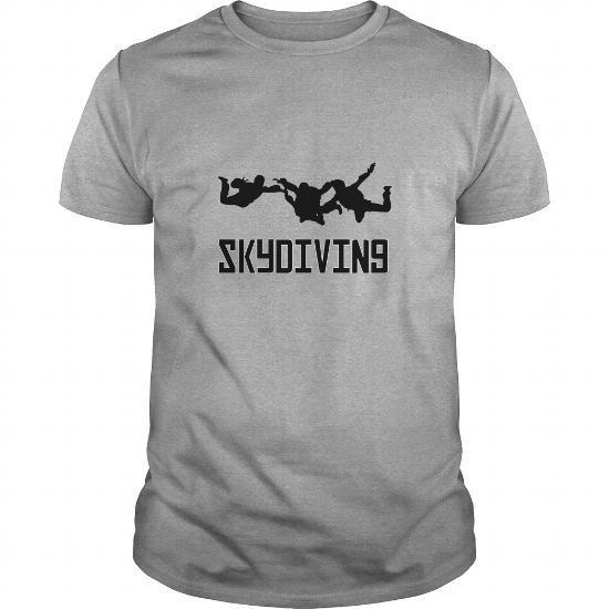 Awesome Tee Skydiving Team Shirt; Tee