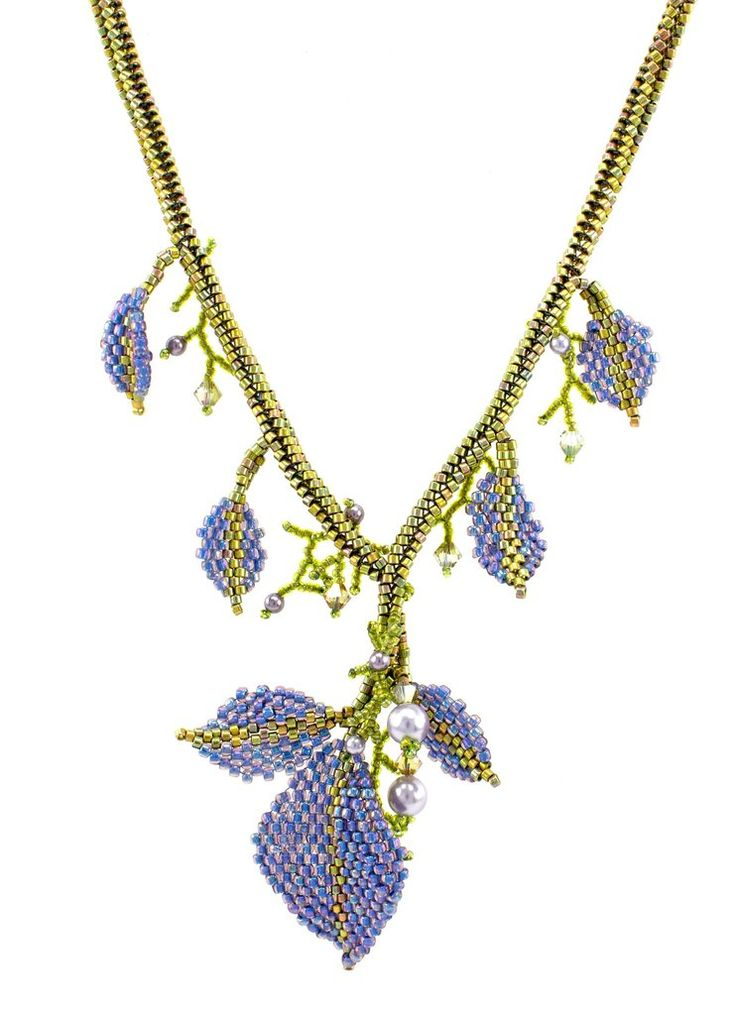 Falling Leaves Necklace Bead Weaving Kit – Beads Gone Wild