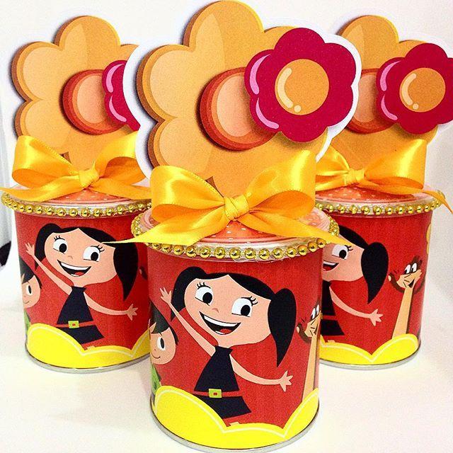 Cilindros de Batata do Show da LUNA!!!! Que lindos!!! #prendaminha #showdaluna #festashowdaluna