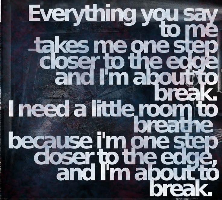 The 25+ best One step closer lyrics ideas on Pinterest | This boy ...