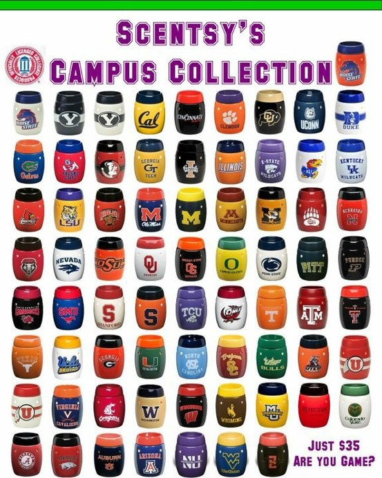 What College do you prefer??  www.makinit.scentsy.us