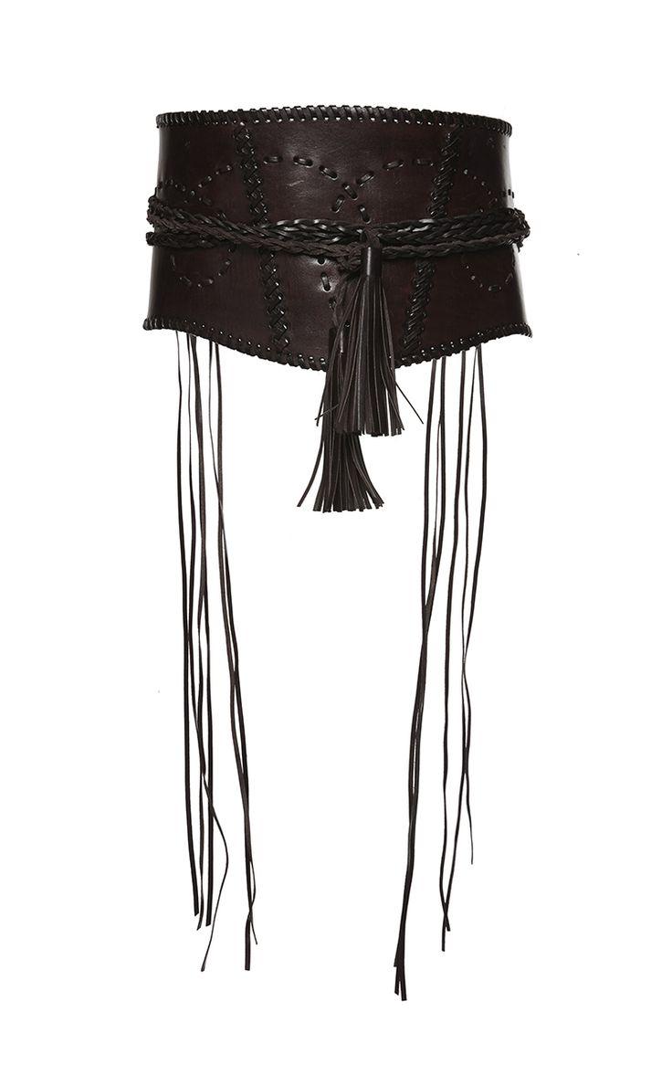 wide *braided* corset belt <3