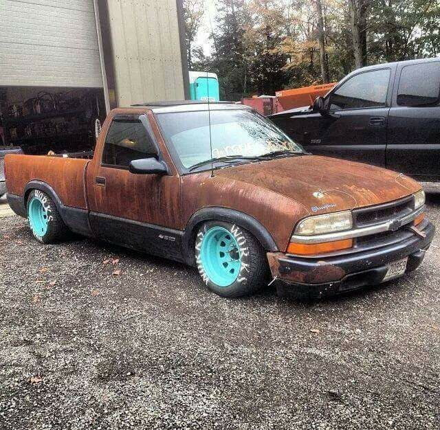 #Chevy_S10 #Slammed #Modified #Stance