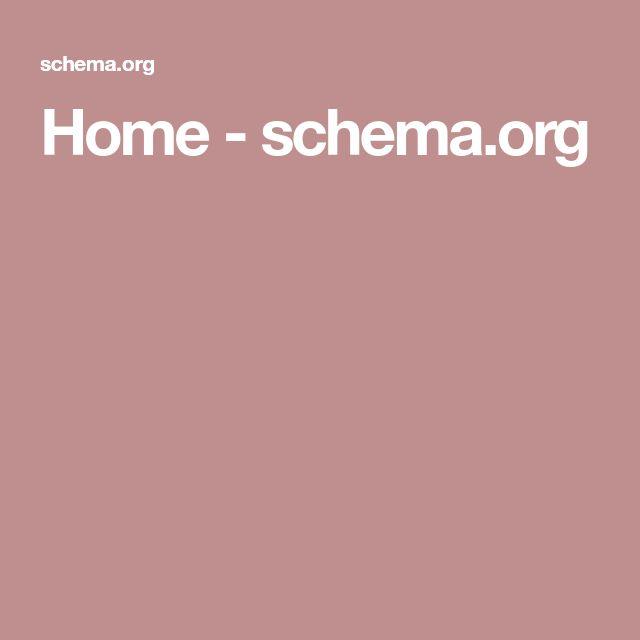 Home - schema.org