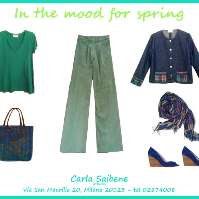 Descrivi il tuo pin...In the MOOD FOR SPRING .. Carla Saibene Atelier