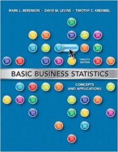 Textbook Solutions Manual for Basic Business Statistics Concepts and Applications 12th Edition Berenson INSTANT DOWNLOAD