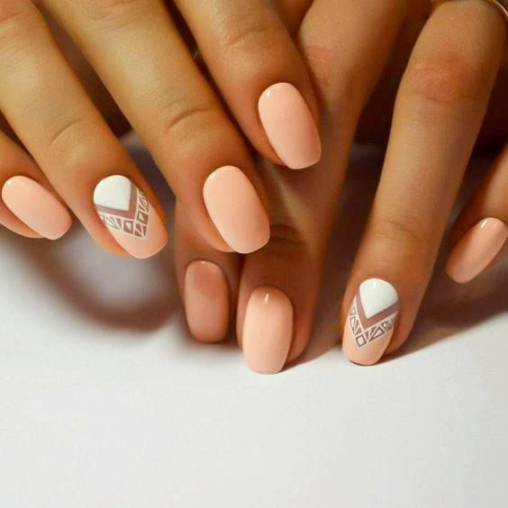 nails Fashion nails Geometric nails, Indian nails, Nails for study, Office  nails, Original nails - The 25+ Best Short Nail Designs Ideas On Pinterest Short Nails